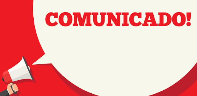 Comunicado nº 05/2020 – Horário e funcionamento do SINEPE/PE