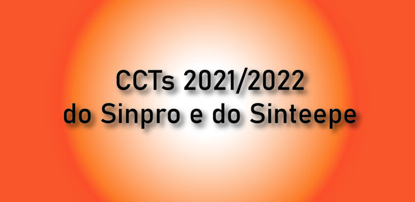 Publicadas as CCTs do Sinpro e do Sinteepe